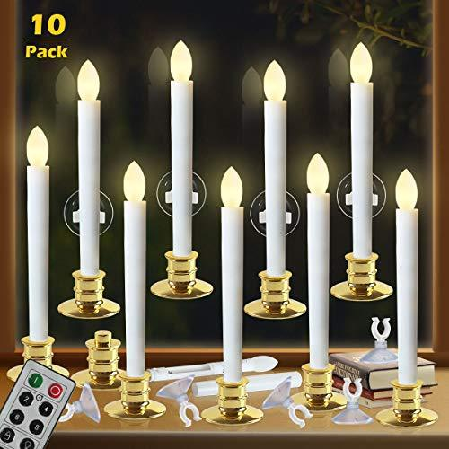 Primary image for Window Candles with Remote Timers Battery Operated Flickering Flameless Led Elec