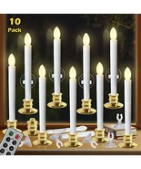 Window Candles with Remote Timers Battery Operated Flickering Flameless ... - $44.16
