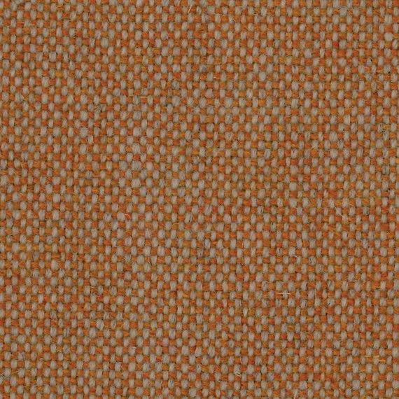 3.75 yds Camira Upholstery Fabric Main Line Flax Lambeth Orange Wool MLF08 FM