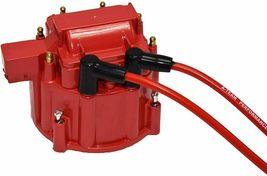 Buick HEI Distributor Red Cap BB 400 430 455 & 8mm Spark Plug Kit image 7