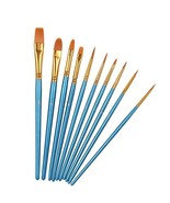 10 Professional Paint Brushes set for Watercolor, Oil, Acrylic Paint  fr... - $179.98