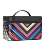 Victoria's Secret Rainbow Runway V-Quilt Vanity Train Case NWT - $62.18