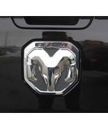 NEW 2019 Dodge Ram 1500 Chrome RAMs Head Logo Tailgate EMBLEM, OEM Mopar! - $36.95