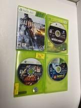 xbox 360 lot Of 4 Games - Tekken 6, Battlefield 4, Wheelman, Lego Batman 2 - $14.84