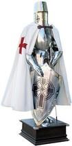 Templar Knight Suit of Armor Spain (Templar Scottish Cross) with Shield - $674.90