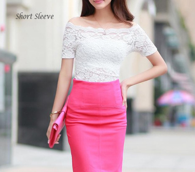 Weddinglacetop shortsleeve 0228