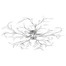 5-bulb acrylic crystal leaf arm ceiling light E14 - $174.78
