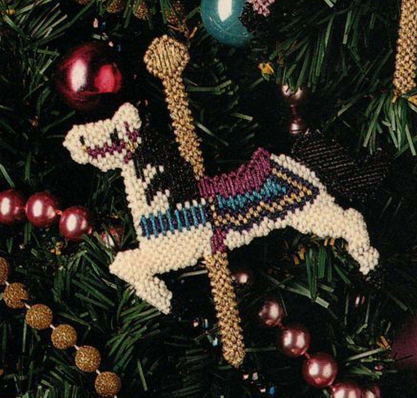 Plastic Canvas Christmas Ornament Patterns.Plastic Canvas Christmas Tree Top Mantel And Similar Items