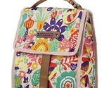 Lily Bloom Foldover Insulated Lunch Box / Portable Cooler Bag for Women (Tulips