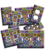 MEXICAN TALAVERA TILES LIGHT SWITCH OUTLET PLATES KITCHEN ART ROOM HOME ... - $8.99+