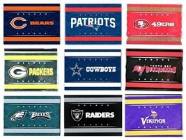 NFL GEO TEAM LOGO MAGNET RECTANGEL NEW, MANY TEAMS Select Your Team - $7.95