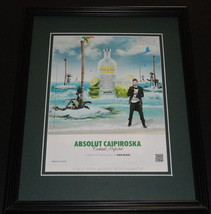 2012 Absolut Caipiroska Citon Vodka 11x14 Framed ORIGINAL Advertisement - $34.64