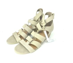 UGG Womens Yasmin Snake Gladiator Sandal Wedge Taupe Leather Lace Up Sho... - ₹3,198.34 INR