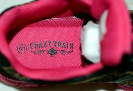 Crazy Train RUNWILD14 Black Pink Cheetah Sneakers Size 9 image 8