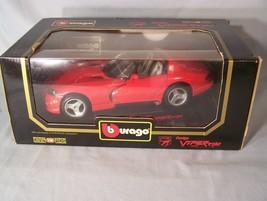 Dodge Viper 1992 1:18 scale diecast Burago Bburago DIAMONDS - $45.08