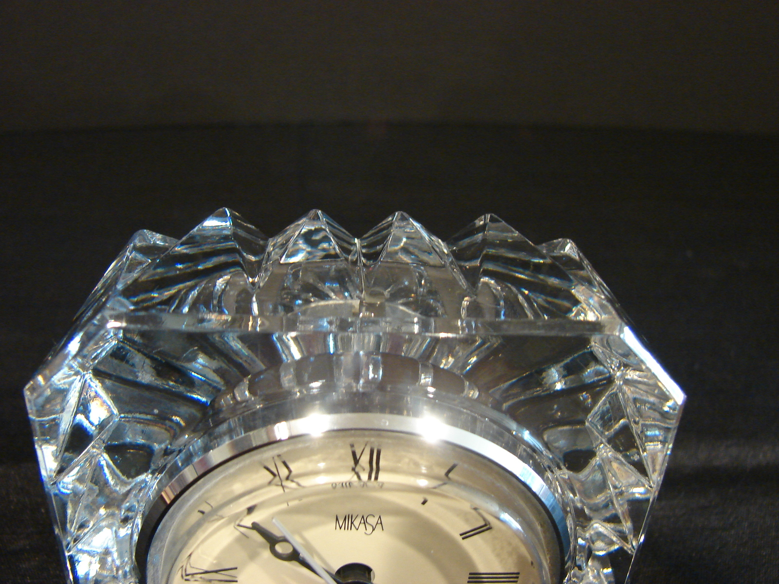 Mikasa Crystal Small Desk Student Clock And Similar Items Dsc06506