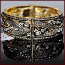 Victorian INSP 6.20Ct Rose Cut Diamond 92.5% Silver Polky Women Gift Bra... - $1,656.00