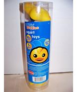 5 Bathin' Buddies Squirt Toys - $5.32