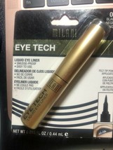 1 Milani #01 Black Eye Tech Liquid Eye Liner New Smudgeproof Easy to use - $6.73