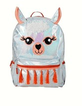 Accessory Innovations 16' Iridescent & Orange Llama Backpack - $18.80