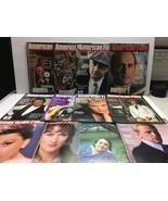 LOT of 12 AMERICAN FILM Magazines 1980-84 Robert Duvall DeNiro Mickey Mo... - $28.45