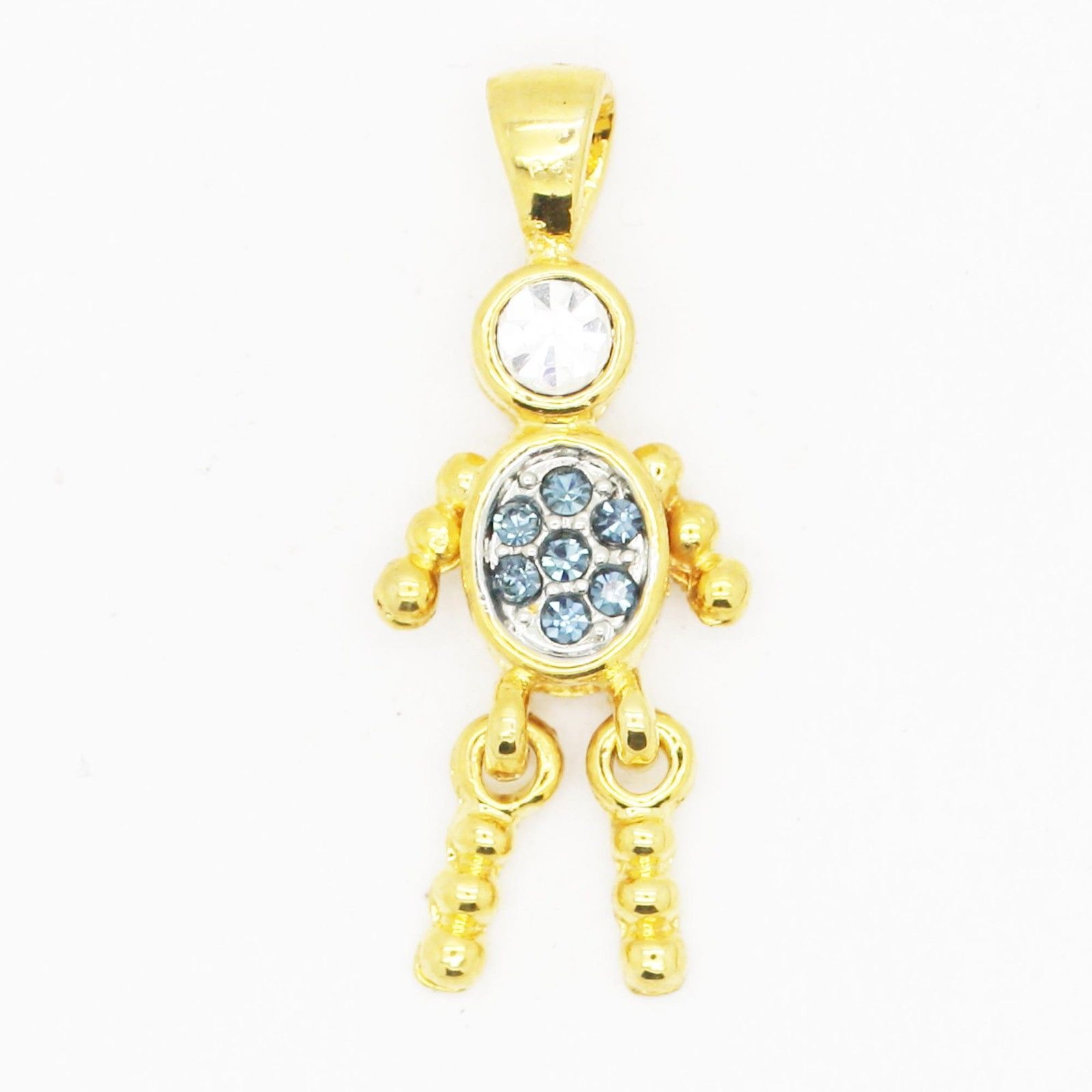 Primary image for Charm Birthstone ~ September Goldtone ~ Baby Child Grandchild