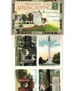 VINTAGE SOUVENIR FOLDER- BEAUTIFUL ARLINGTON, VA  27 PHOTOS  BK21 - $5.15