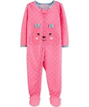Carter's Baby Girls Footed Polka-Dot Bear Pajamas,choose Size  - $16.99