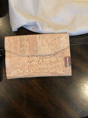 ARTELUSA CORK 2 Tone Purse with Corkor wallet image 5