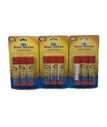 Lot of 3 IMagine Glue Sticks 3 Pack .28oz School Crafts Washable Safe No... - $11.99