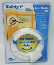 Safety 1st Lever Handle Lock Accommodates Most French Door Style Levers Design - $8.20
