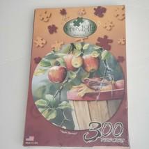 Serendipity Apple Harvest 300 Piece Jigsaw Puzzle Susan Bourdet, Artist New - $18.69