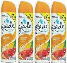 4 S.C.Johnson Glade Spray Freshen The Air Eliminates Odors Hawaiian Breeze 8 Oz - $19.77
