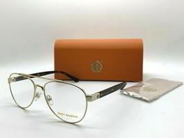 Tory Burch TY 1060 3272 GOLD/HAVANA 54-15-140MM Eyeglasses Frame /CASE - $77.57