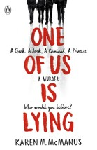 One of Us is Lying by Karen McManus Paperback Book Free UK Post - $12.68