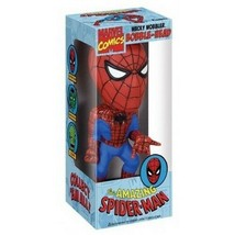Spider-Man Wacky Wobbler Bobblehead by FUNKO Marvel Comics NIB - $22.27