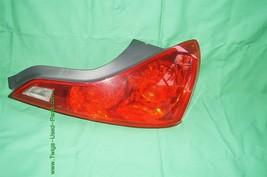 2008-13 Infiniti G37 Coupe Tail Light Lamp Passenger Right RH image 1