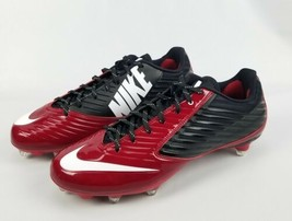 NIKE Vapor Speed Low TD Football Dark Red/Black Cleats 668854-001 Size 1... - $57.23