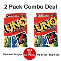 UNO Card Game ( 2 PACK ) - US Seller - Ship Fast - Free Shipping - $18.42