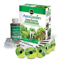 AeroGarden Heirloom Salad Greens Seed Pod Kit (6-Pod) - £13.36 GBP