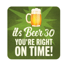 It's Beer 30 Patio Sign Metal Outdoor Garden Decor Beach Pool Party Plaque - $26.59+