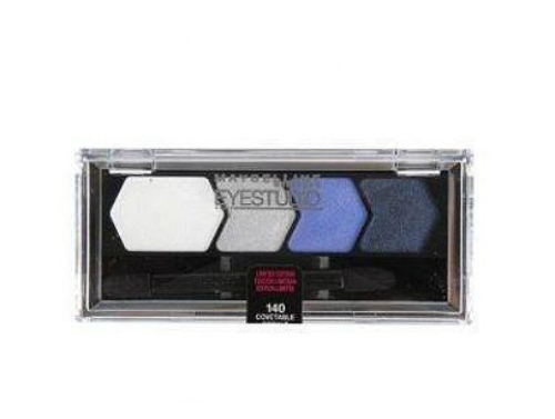 Primary image for Maybelline Eye Shadow Quad, Covetable Cobalt, Eye Studio, blue full size, 140