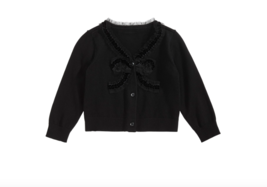 First Impressions Baby Girls Bow-Front Cotton Cardigan Size 6-9 Months - $12.73
