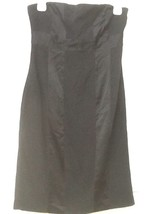 Express Design Studio Black Silk Blend Dress 4 - $17.95