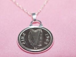 1949 69th Birthday / Anniversary Irish 6d coin pendant plus 20inch SS ch... - $17.47