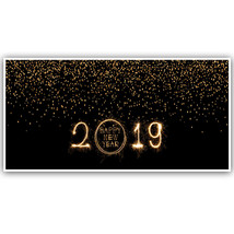 Sparklers New Years 2019 Banner Backdrop Decoration - $22.28+