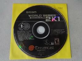 EUC Sega World Series Baseball 2K1 Sega Dreamcast Video Game Disc Free Ship - $12.86