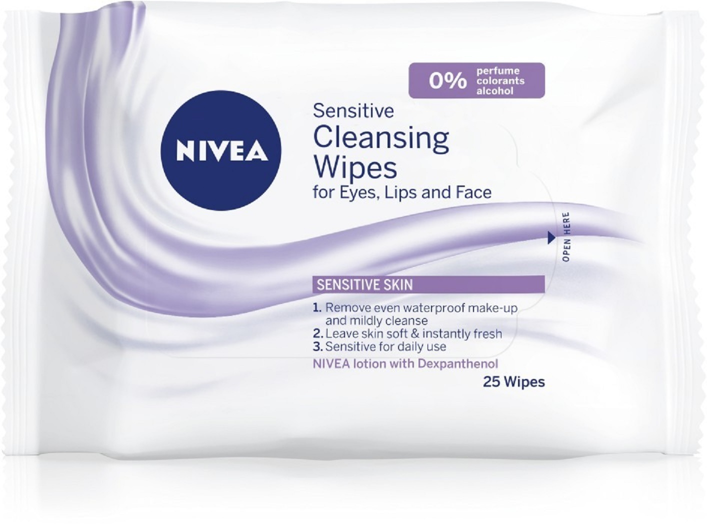 Nivea Sensitive Cleansing Wipes 25 pcs image 3