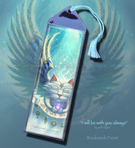 I Will Always Be With You Angel Cat Bookmark - $3.00