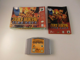 Duke Nukem: Zero Hour (Nintendo 64, 1999) w/ Box & Manual Blockbuster - $24.74
